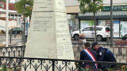 Commémorations de la Libération des villes de ma circonscription.  Devoir de mémoire à l'égard de ceux qui sont morts pour la France.